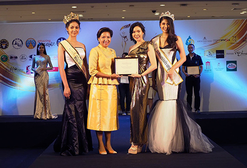 Miss Grand Nakhon Pathom and Miss Grand Ratchaburi 2019